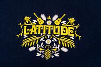 LATITUDE FESTIVAL 2013 OFFICIAL CREW BLUE T-SHIRT SIZE L EXCELLENT CONDITION