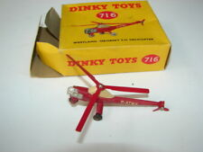 VINTAGE DINKY TOYS TRUCK 716 WESTLAND SIKORSKY S 51 HELICOPTER IN BOX