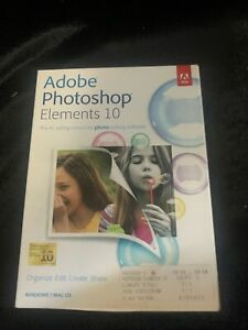 Adobe Photoshop Elements 10 for PC, Mac OS - Brand