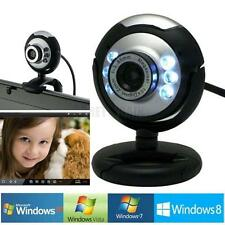 HD 12.0 MP 6 LED USB Webcam Camera w/ Mic &Night Vision for Desktop PC Laptop US