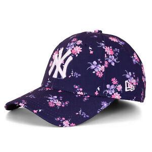 New Era 9Forty Damen Floral New York Yankees Snapback Cap navy 95759