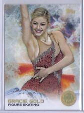 Gracie Gold 2014 Topps Winter Olympics Golden Rainbow Foil #40 Figure Skating