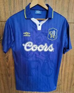 1997-98 Chelsea Home Retro Soccer Jersey
