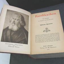 Kunstlexikon Wilhelm Spemann 1905