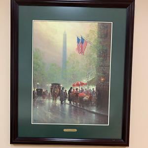"""Pinnacle of Freedom"" - G Harvey - Signed & Numbered Ltd. Ed. Print COA Included"