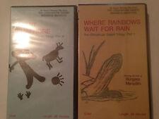 RAINBOWS & SEMAPHORE CHIHUAHUAN DESERT PART II & III VHS VHS AWARD WINNING