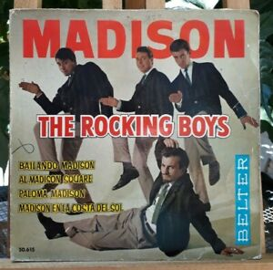Rare EP 45T - The Rocking Boys – Madison - Or.Espana 1962 - (VG/VG+)