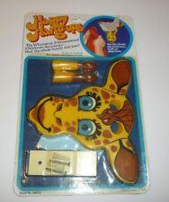 Vintage 1984 Giraffe Head Happy Hang-Ups Hanger Hook Bedroom Kids Child Nikko