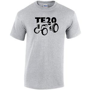 TE20 Ferguson Vintage Tractor Mens T-Shirt