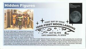 6° Cachets 5400 1969: The First Moon Landing Hidden Figures Katherine Johnson