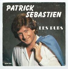 """Patrick SEBASTIEN Vinyle 45T 7"""" LES PUBS TV FRANCE TERRE D'ASILE - PATHE 1654897"""