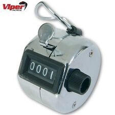 VIPER TACTICAL CHROME HAND TALLY COUNTER NUMBER SECURITY DOORMAN GOLF CLICKER