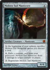1x Molten-Tail Masticore NM Scars of Mirrodin MTG