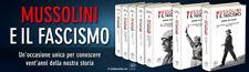 """Renzo De Felice """"MUSSOLINI E IL FASCISMO (Einaudi 2019 - N.12 VOLUMI) + OMAGGIO"""