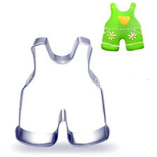 Stainless Steel Cookie Cutter Kid Rompers Cake Biscuts Cutter Fondant DIY Mold ♫