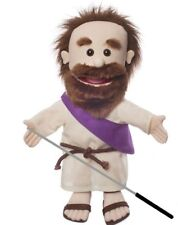 Silly Puppets Jesus(Biblical) Glove Puppet Bundle 14 inch with Arm Rod