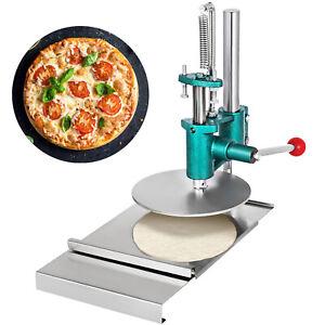 7.8'' Große Teig Rolle Gebäck Presse Maschine Blätterteig Handbuch Pizza