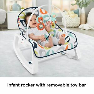 Fisher-Price Infant-to-Toddler Rocker 23.62 x 24.26 x 16.54 inches Baby Recliner