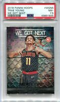 2018-19 Hoops We Got Next 5 Trae Young Rookie PSA 7.5 NM+