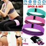 Resistance Bands Fabric Fitness Yoga Hip Booty Butt Exercise Loop Circles Set