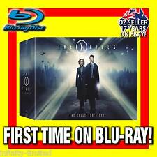 THE X FILES BLU-RAY TV COMPLETE SERIES 1-9 - SEASONS 1,2,3,4,5,6,7,8,9 OZ REGION
