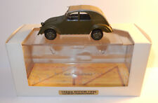 MADE FRANCE 1990 NOREV CITROEN 2CV PROTOTYPE CYCLOPS 1939 ICCCR CLERMONT-FERRAND