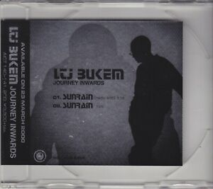 LTJ Bukem – Journey Inwards 2-Track Japanese CD Promo RARE ITEM