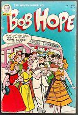 ADVENTURES OF BOB HOPE #29 1954 VG+ 3 STORIES+ AD FOR JIMMY OLSEN #1 DC HUMOR
