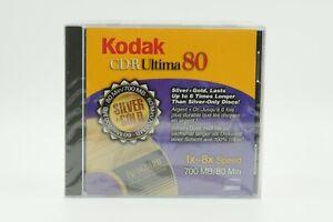 Lot of 7 Kodak CD-R Ultima 80 1x~8x Speed 700MB/80 Min #J51429