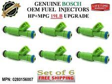 Set/6 Refurb +19Pound Upgrade Fuel Injectors /Chrysler and Dodge 3.3L/ Oem Bosch