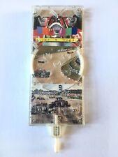 Slide N Shoot Vintage Motor Racing Cars Handheld Pocket Pinball Bagatelle Game