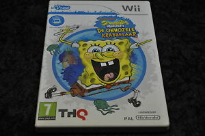 Nintendo wii UDraw Spongebob Squarepants De onnozele krabbelaar