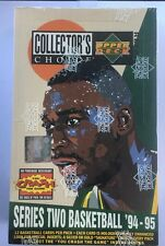 1994-95 Collector's Choice Series 2 Basketball Hobby Box Factory Sealed 36 Pack