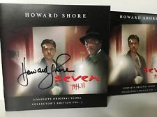 Seven - Soundtrack CD - Collectors Edition AUTOGRAPHED By Howard Shore