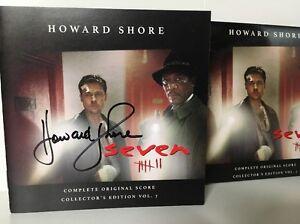 Seven - Soundtrack CD - Collectors Edition AUTOGRAPHED By Howard Shore