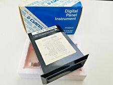 Datel Digital Panel Meter 35 Digit Lcd 9 Vdc Repaired Instructions Dm 3100u1