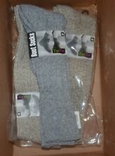 NEW 3-Pair Tipi Toe Women's Ragg Ribbed Mid-Calf High Wool-Blend Boot Socks 9-11