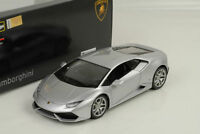 1:18 Bburago Lamborghini Huracán LP610-4 2014 -argent - Argent