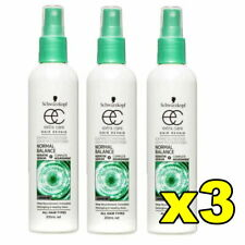 3x Schwarzkopf Hair Repair Extra Care Leave In Conditioner Normal Balance