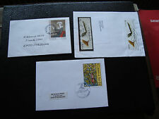 FRANCE - 3 enveloppes 2002 2002 2003 (cy39) french