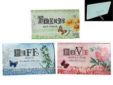 Floral Irregular Decorative Plaques & Signs