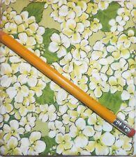 Cotton Fat Quarter Green (4) Floral