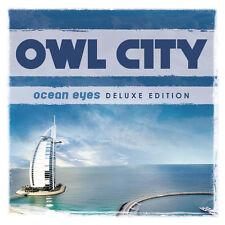 OWL CITY 'OCEAN EYES' DELUXE DIGIPACK 2CD  7 BONUS