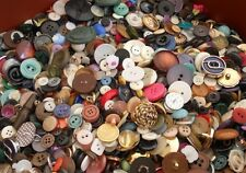 Selection Of 500g Vintage And Reclaimed Buttons For Arts And Craft Upcycling