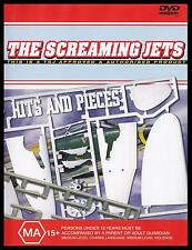 SCREAMING JETS - HITS & PIECES DVD ~ DAVE GLEESON~SHIVERS~BETTER~SHINE ON *NEW*