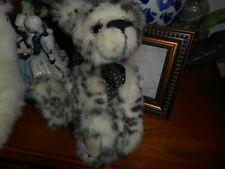 """Kaycee Bears Dally by Kelsey Cunningham Black White spotted fur 12"""""""