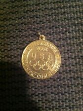 2002 United States Olympic Committee Gold Coin Or Key Chain