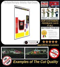 Action Man Pursuit Craft Stickers Decals Die Cut ( world wide ) Postage