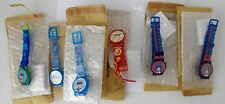 6 Vintage Disney Watches Still in Packaging~~Mickey, Donald, Goofy, Pooh
