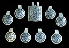 Morocco - Elements of ethnic tribal Berber beads silver and niello region South